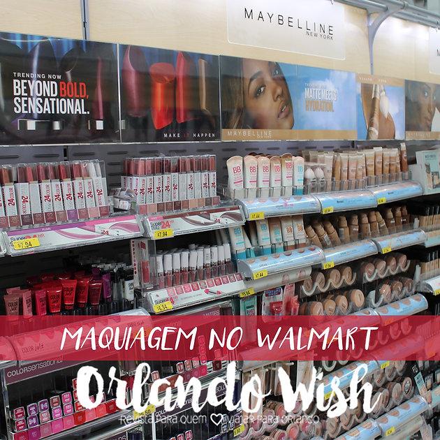 912712d49 Maquiagem no Walmart Orlando
