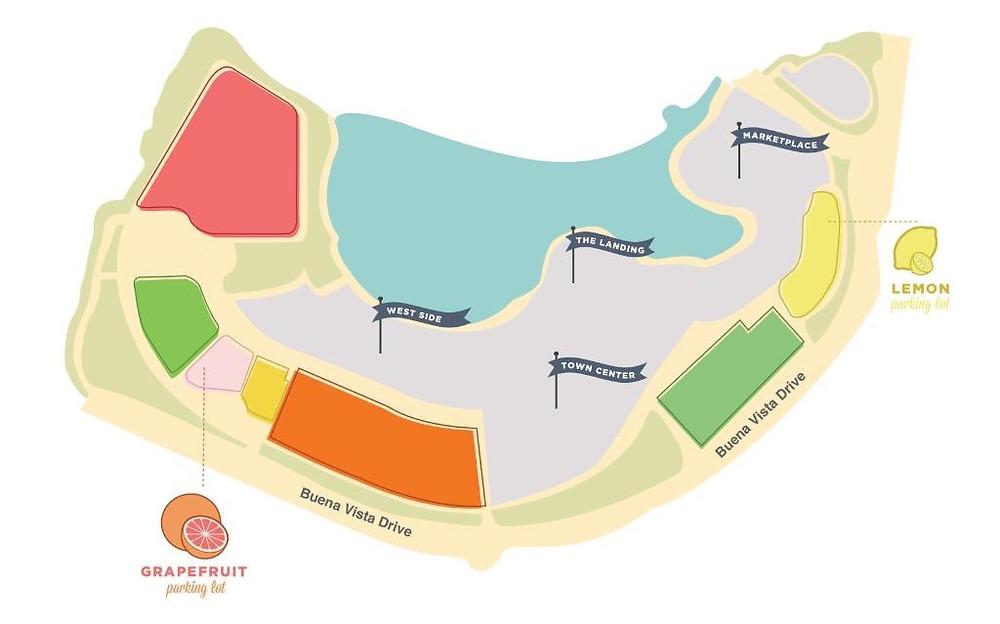 DIsney Springs Preferred Parking