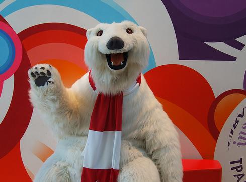 polar bear coca cola