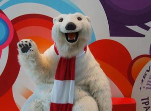 polar bear coca cola