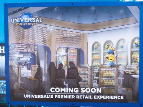 Nova Universal Store no CityWalk