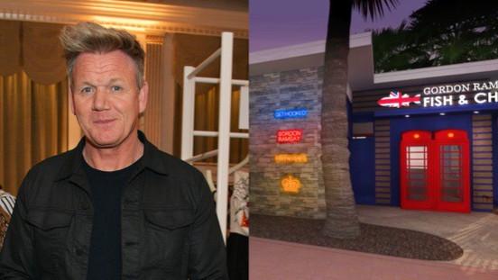 Gordon Ramsay está abrindo restaurante em Orlando