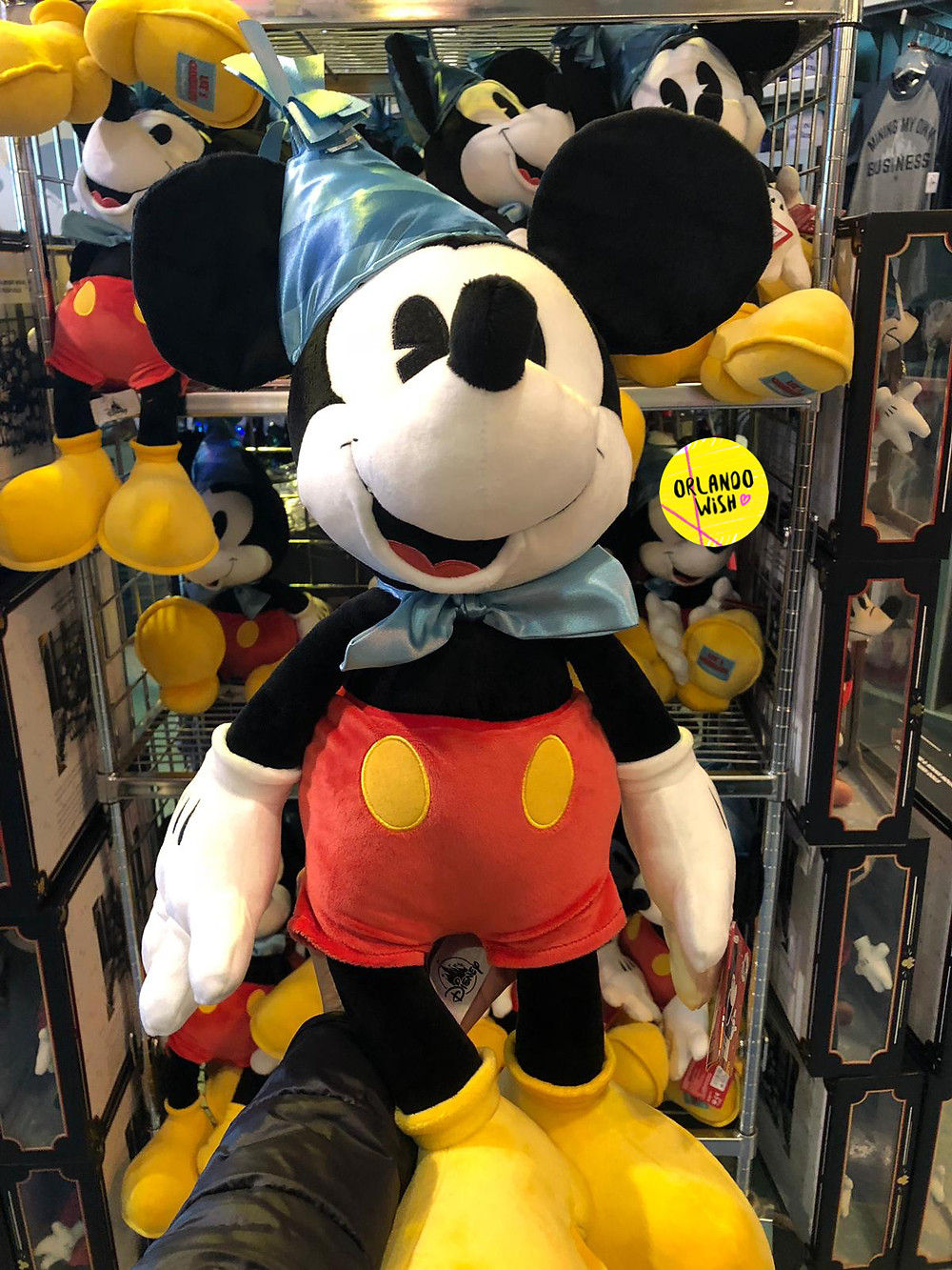 Mickey Mouse 90 Birthday Plush Mickey 90