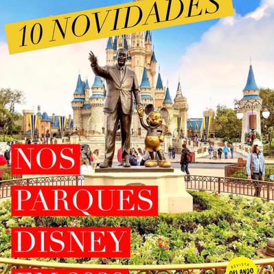 Novidades nos parques Disney em 2020