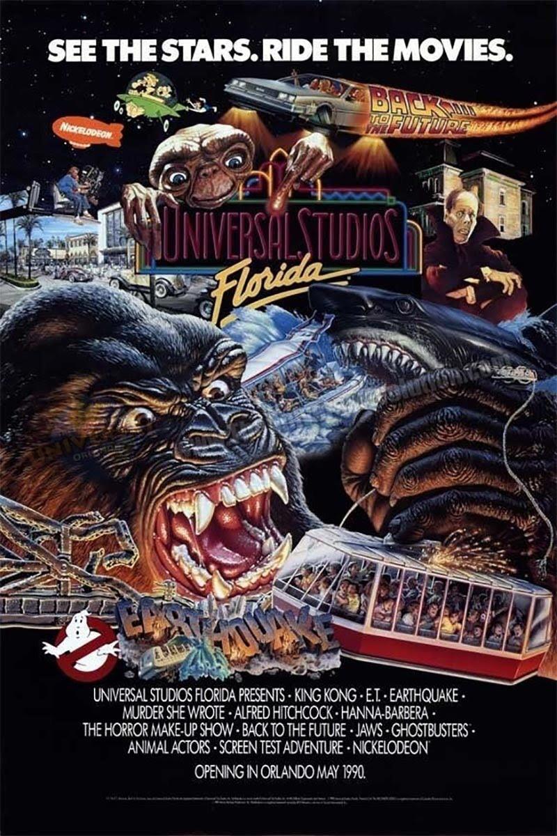 30 anos do parque Universal Studios em Orlando