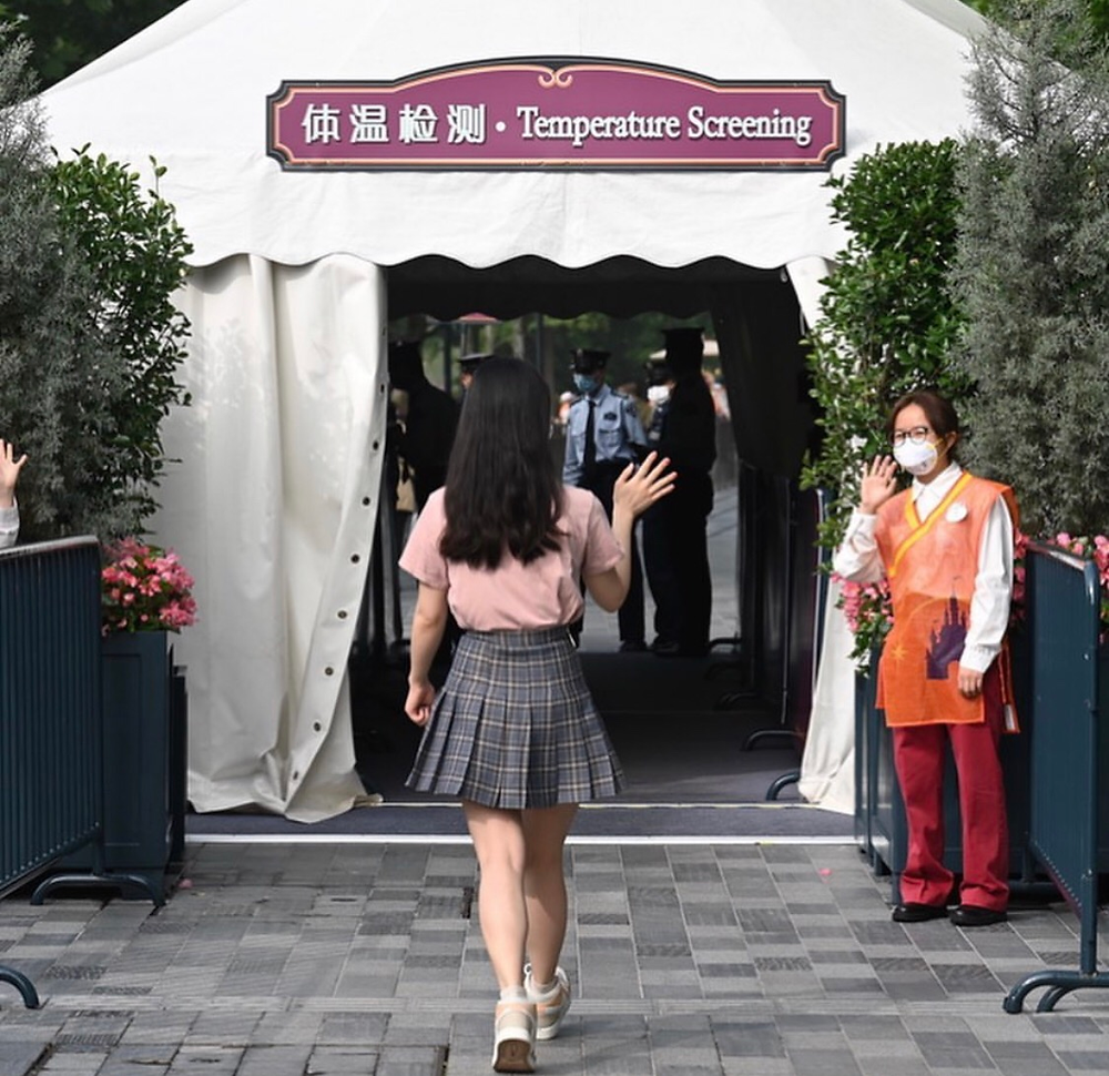 Reabertura Disneyland Shanghai procedimentos de segurança