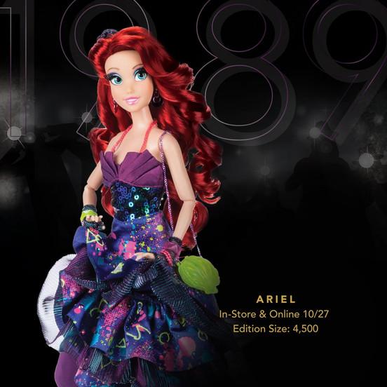 Nova coleção de bonecas das Princesas da Disney