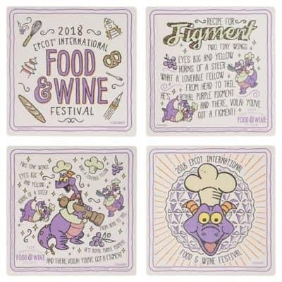 Porta Copos Food & Wine