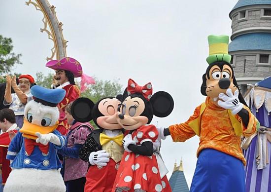 Última apresentação do Dream Along With Mickey em Magic Kingdom