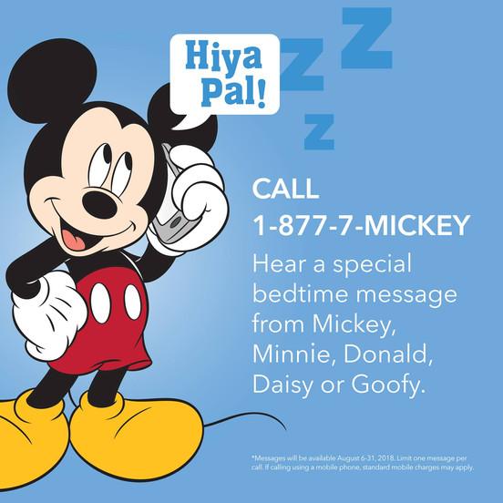 Como falar com o Mickey Mouse