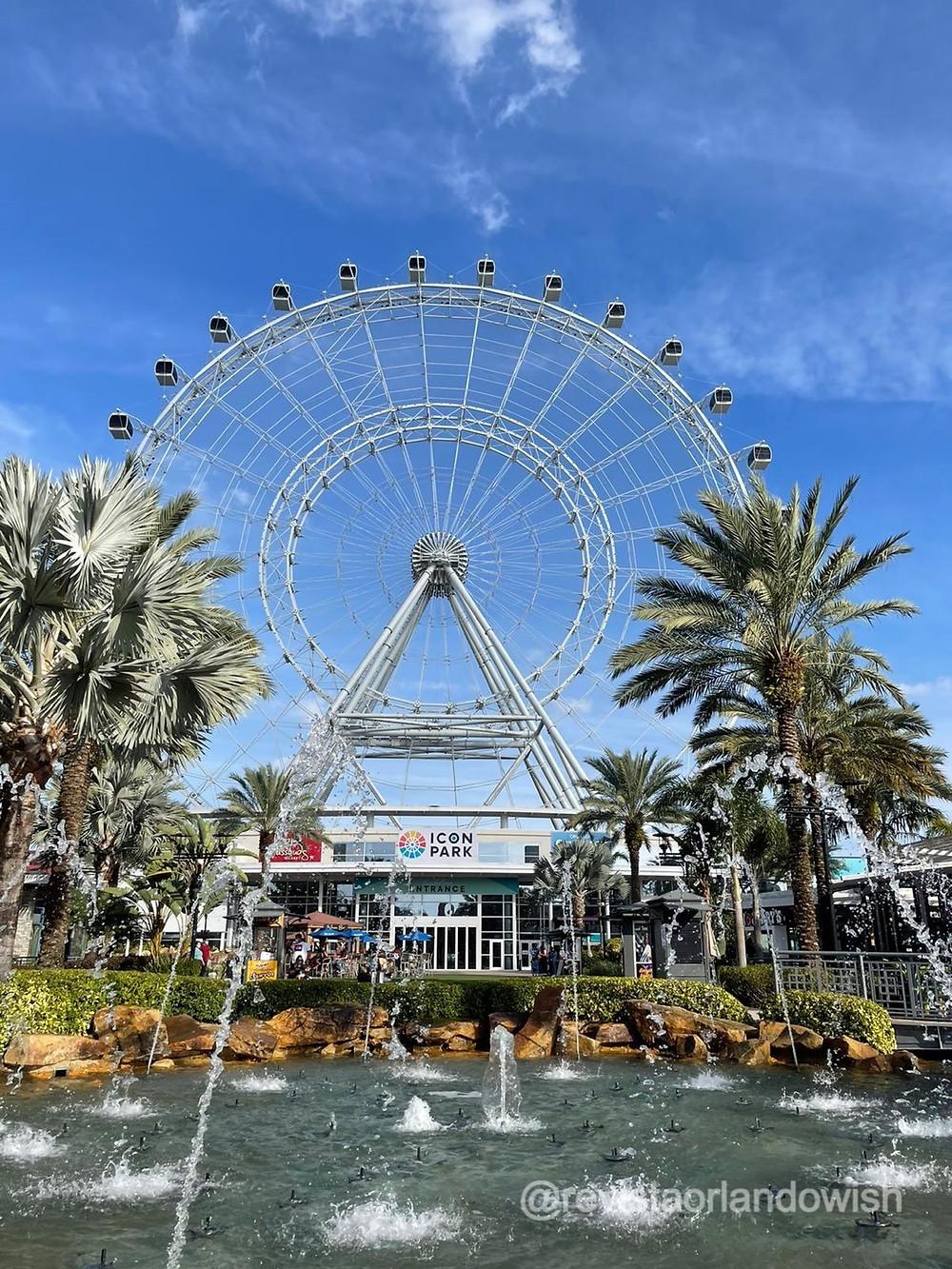 onde fica o Icon Park Orlando?
