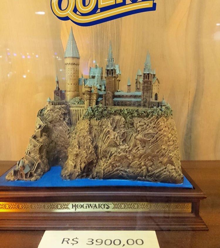 Miniatura do Castelo de Hogwarts