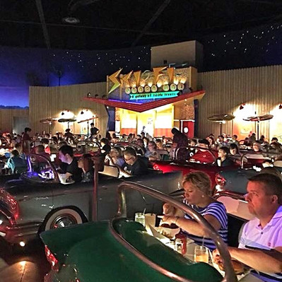Sci-Fi Dine-In no Disney's Hollywood Studios