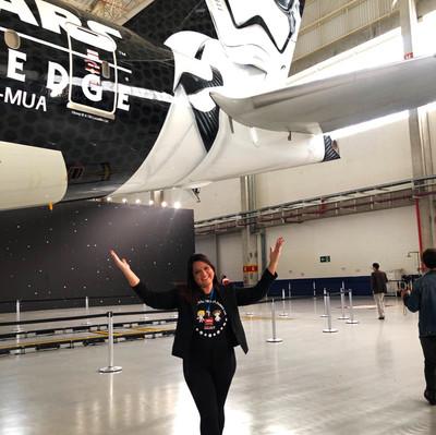 Stormtropper Plane - novo avião de Star Wars da Latam