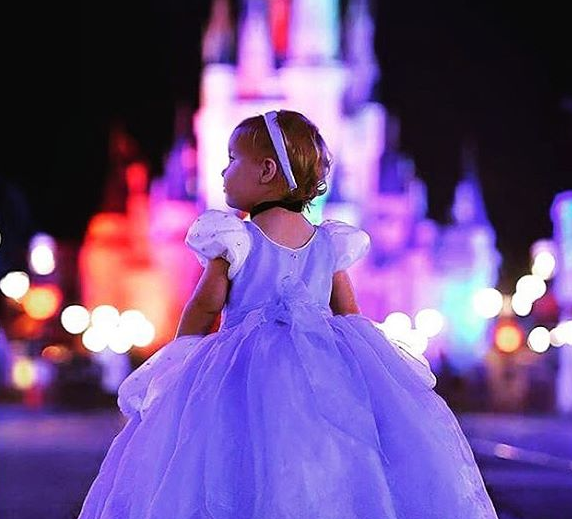 Disney com crianças