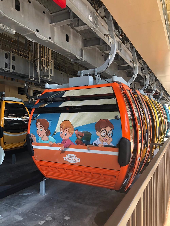 Disney Skyliner reabertura dos parques temáticos