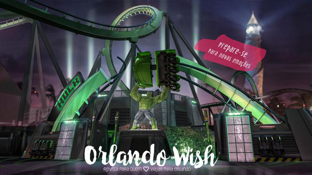 Hulk Roller Coaster - orlando Wish