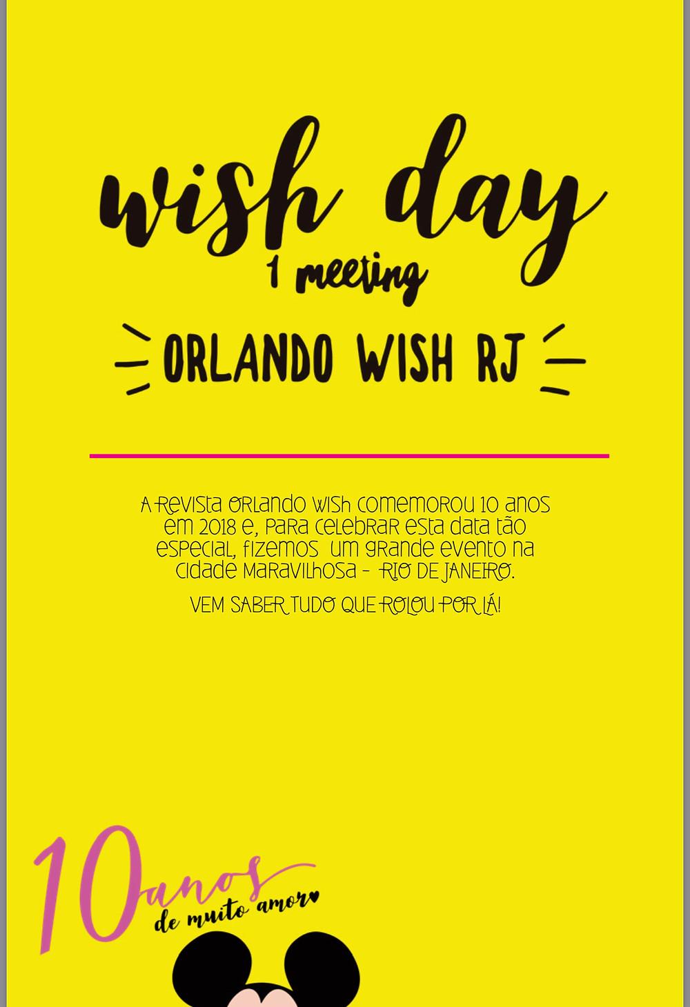 Revista Orlando Wish