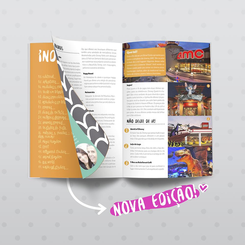 Revista orlando Wish - nova edição 2016