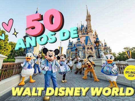 Festa de 50 anos de Walt Disney World