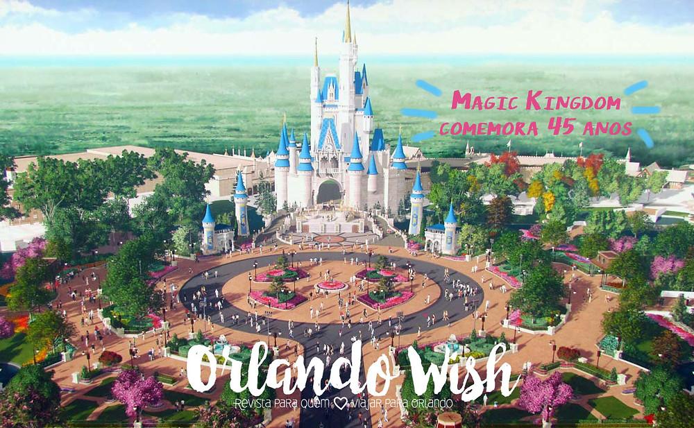 Castle 45 anos - orlando wish