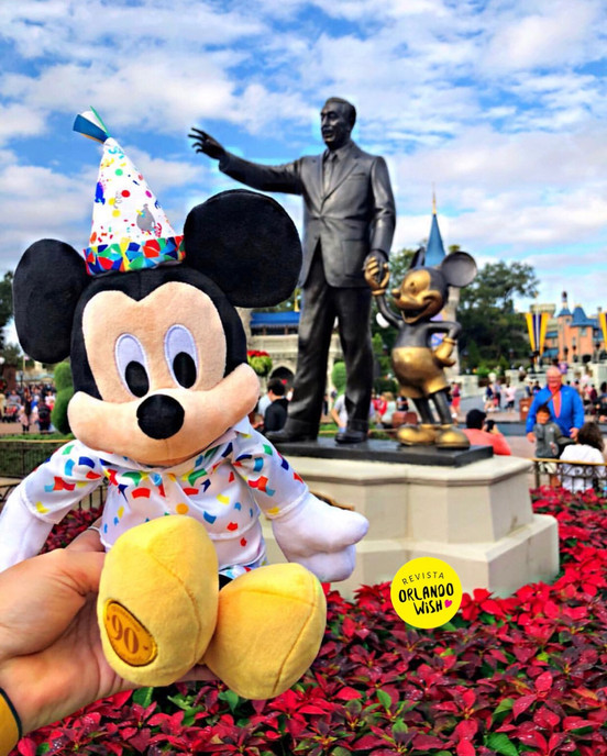 Fim da Mickey & Minnie's Surprise Celebration