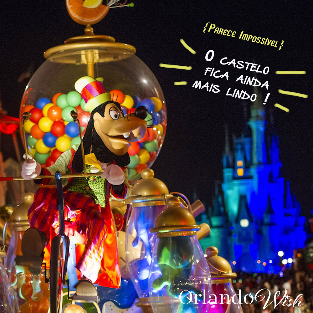 Natal em Magic Kingdom - orlando Wish