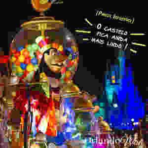 Natal em Magic Kingdom - orlando Wish