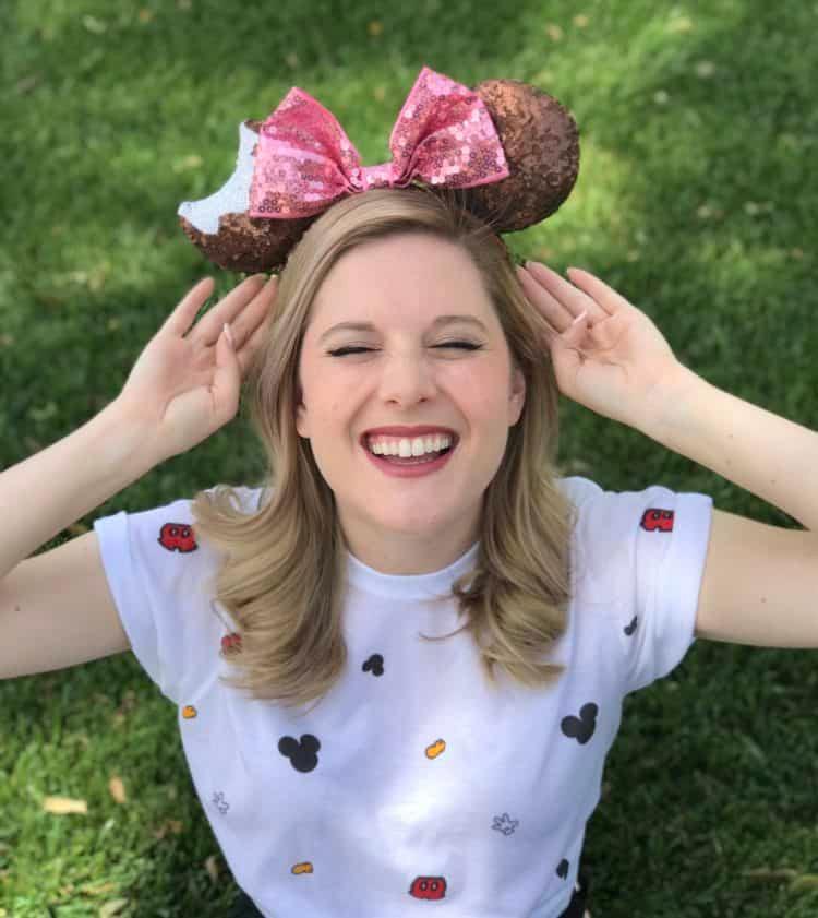 Mickey Ice Cream Bar Ears