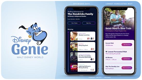 Disney Genie App chegará em breve ao complexo