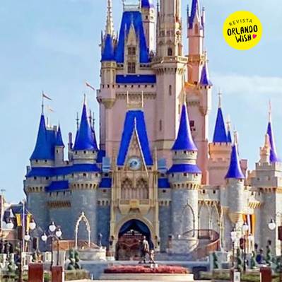 Reforma no Castelo da Cinderela em Magic Kingdom