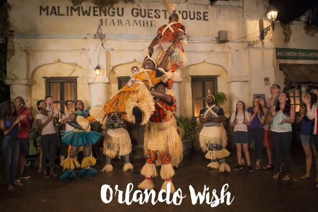 Wildlife Parti - orlando wish
