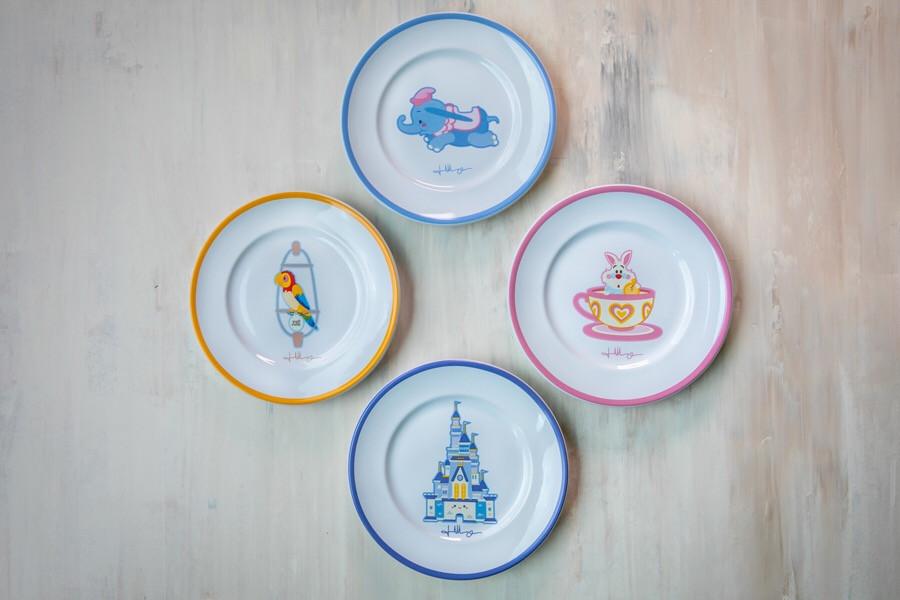 Kingdom of Cute pratos