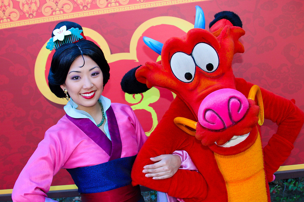 Mushu e Mulan photopass day