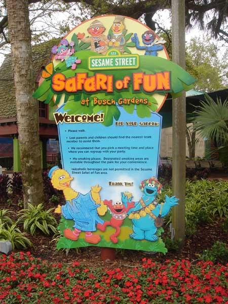 Sesame Street Safari - orlando Wish