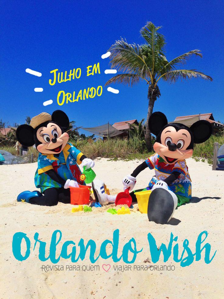 Julho em Orlando - Orlando Wish