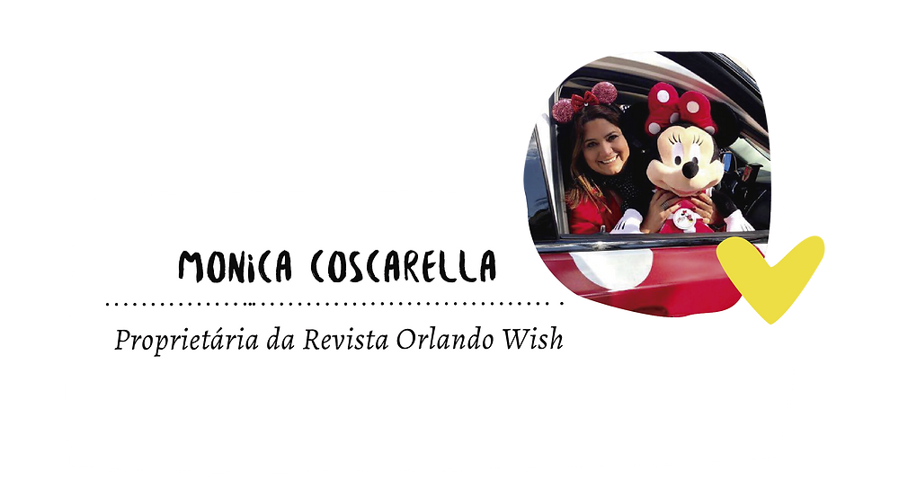 Monica Coscarella Proprietária da Revista Orlando Wish