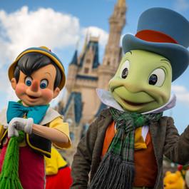 Jiminy Cricket em Animal Kingdom