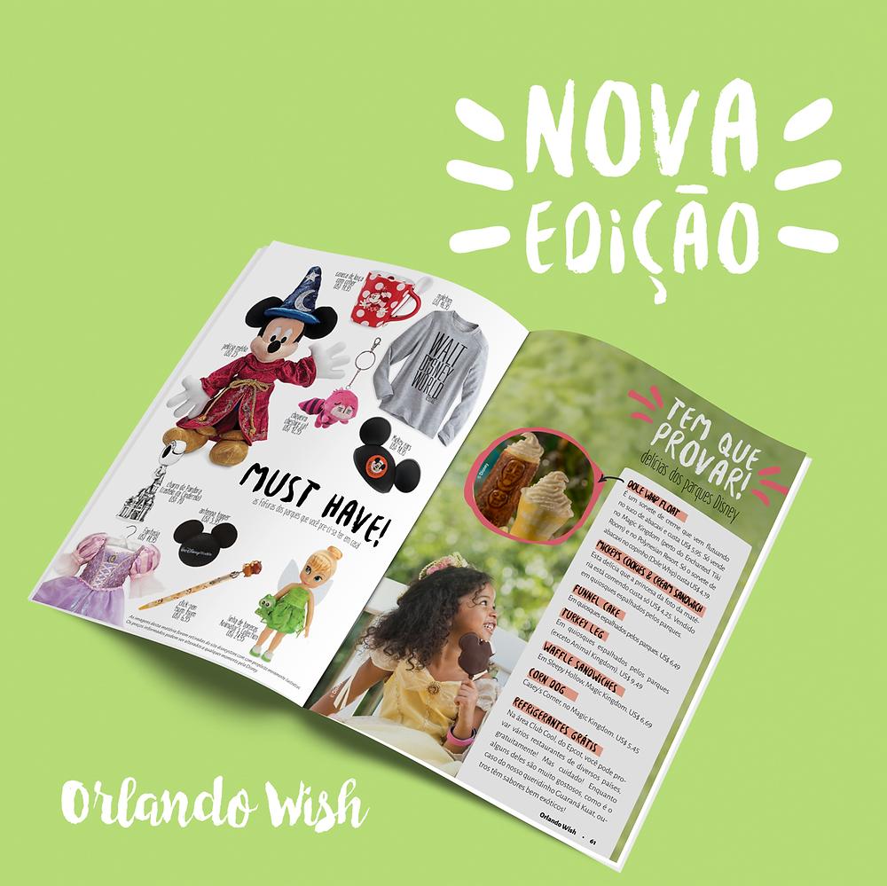 Nova Edição Revista Orlando Wish
