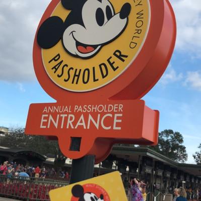 Novos procedimentos para entrada nos parques Disney para Portadores de Passe Anual