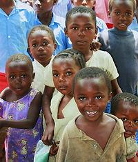 afrikanische Kinder