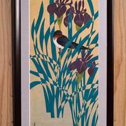 燕と燕子花