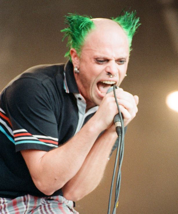 Keith Flint, Machine Blips and Green Frosted Tips. Prodigy Legend dead at 49
