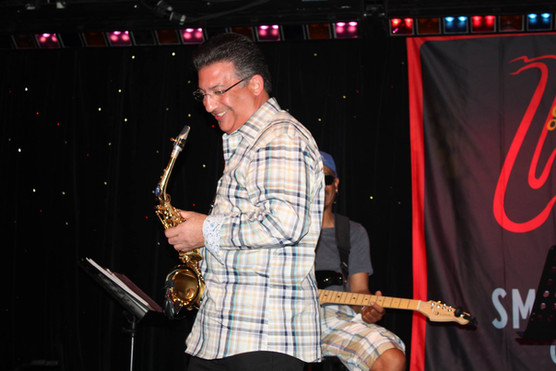 Playing on stage at Smooth Jazz Cruise 2013 - that was totally cool.  Thank you Ricky.  Thank you Gerey.