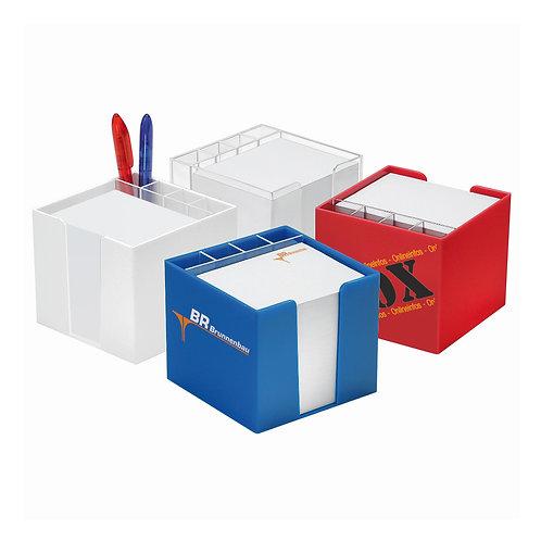 Zettelbox mit Köcher