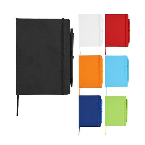 Prime mittelgroßes Notizbuch mit Stift