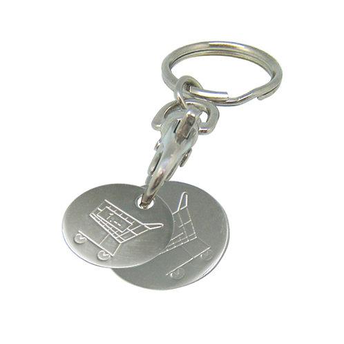 Schlüsselanhänger Logo Coin