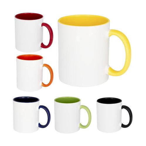 Pix 330 ml farbige Sublimations-Tasse