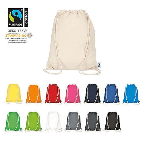Turnbeutel aus Fairtrade-Baumwolle