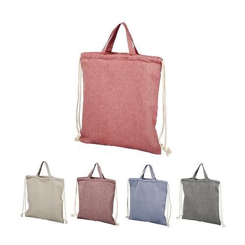 Pheebs Rucksack mit Kordelzug aus recycelter Baumwolle